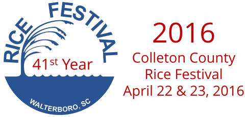 Colleton County Rice Festival, April 18-26, 2015